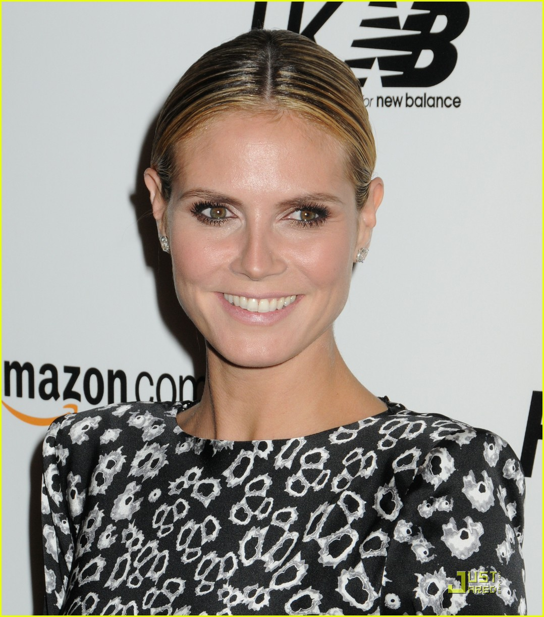 heidi klum teams up with new balance 092485709