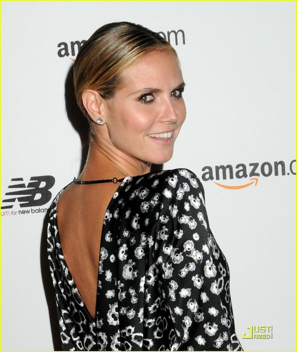 heidi klum teams up with new balance 10