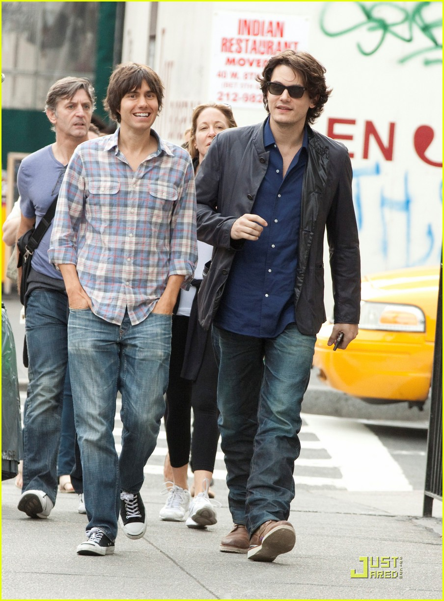 john mayer visits the west village 08