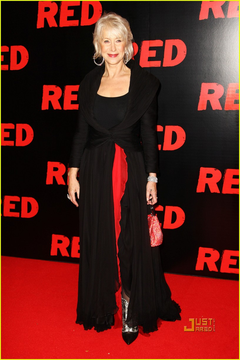helen mirren bruce willis red uk film premiere 08