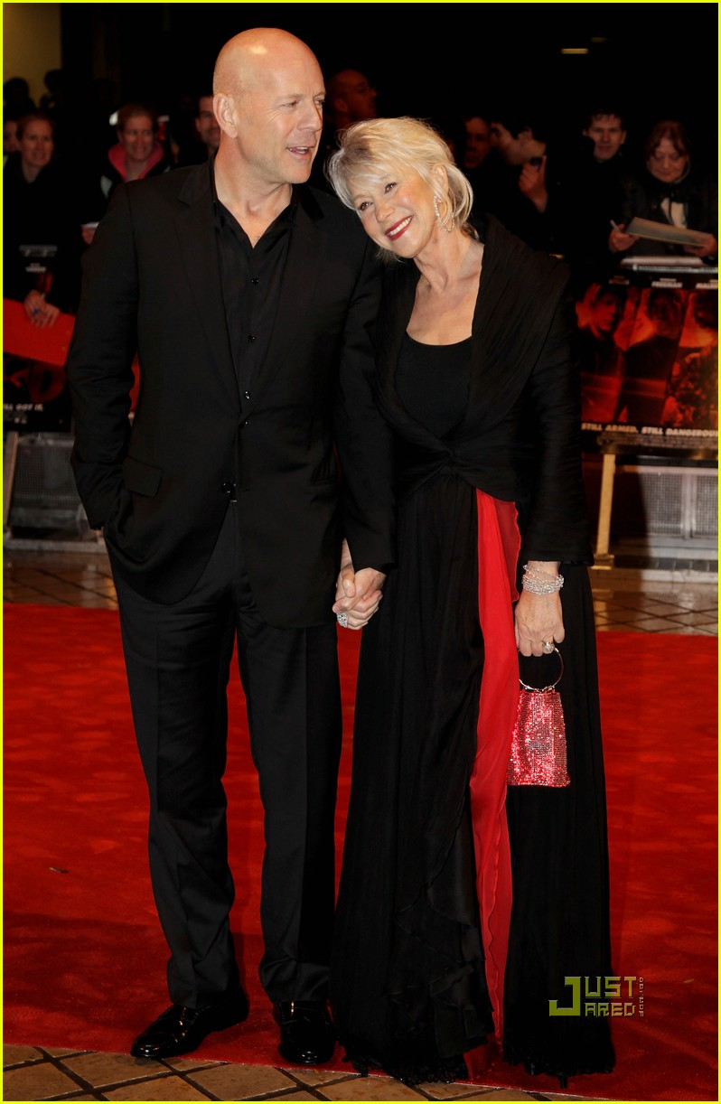 helen mirren bruce willis red uk film premiere 12