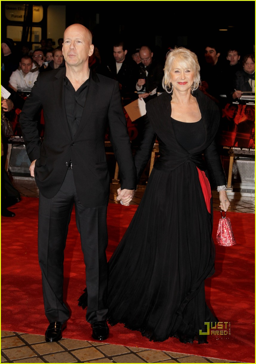 helen mirren bruce willis red uk film premiere 14