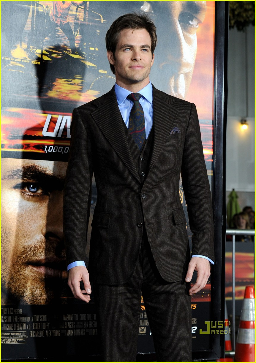 chris pine unstoppable premiere with rosario dawson 02