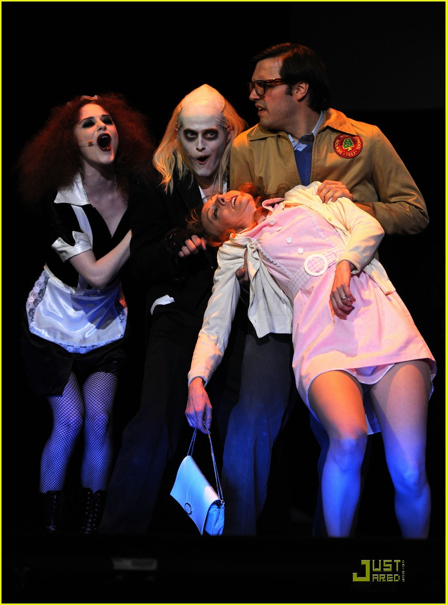evan rachel wood rocky horror tribute benefit 03