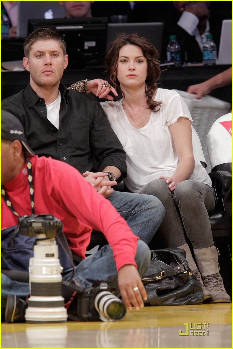jensen ackles danneel harris lakers2498816