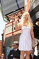 christina aguilera walk of fame star 14