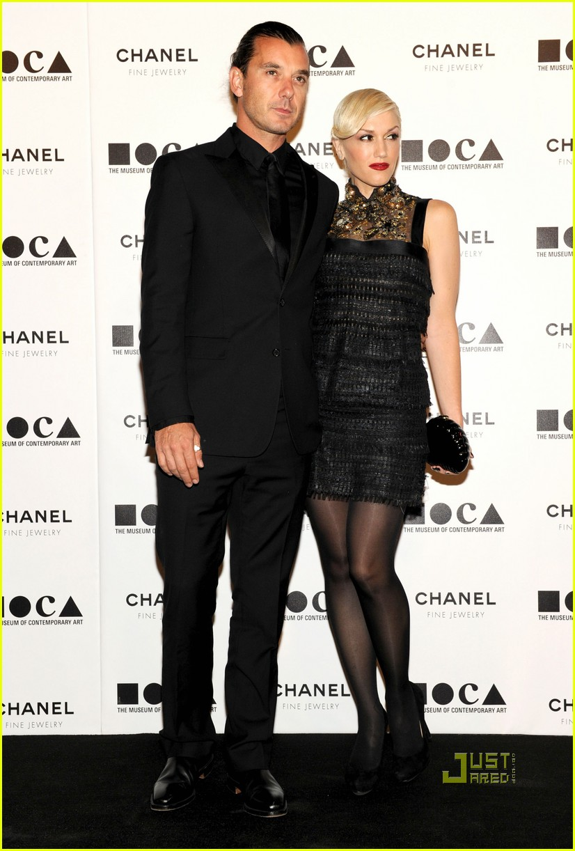 gwen stefani gavin rossdale moca gala park 05