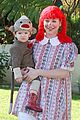 alyson hannigan satyana halloween sock monkey 01