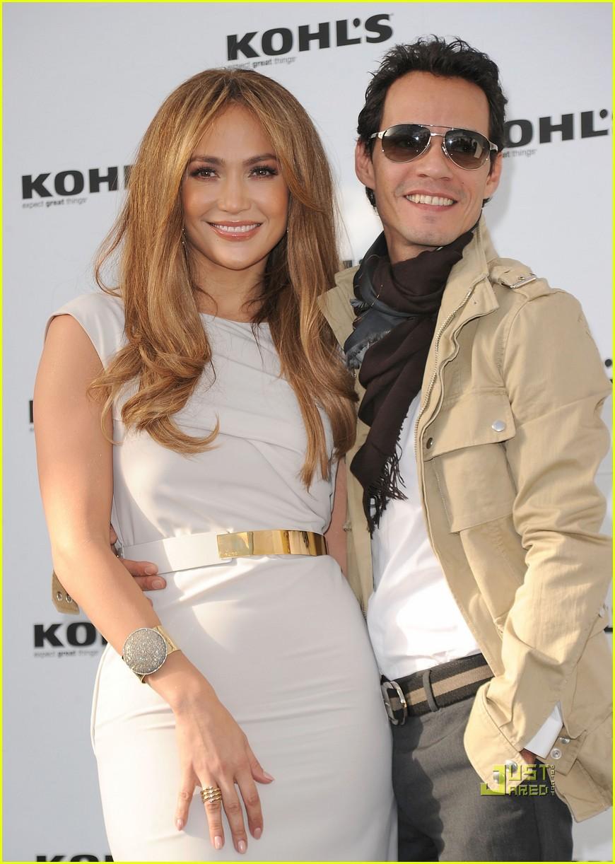 jennifer lopez marc anthony kohls 01 kohls wedding dresses Jennifer Lopez Marc Anthony Two Kohl s Lines in the Works