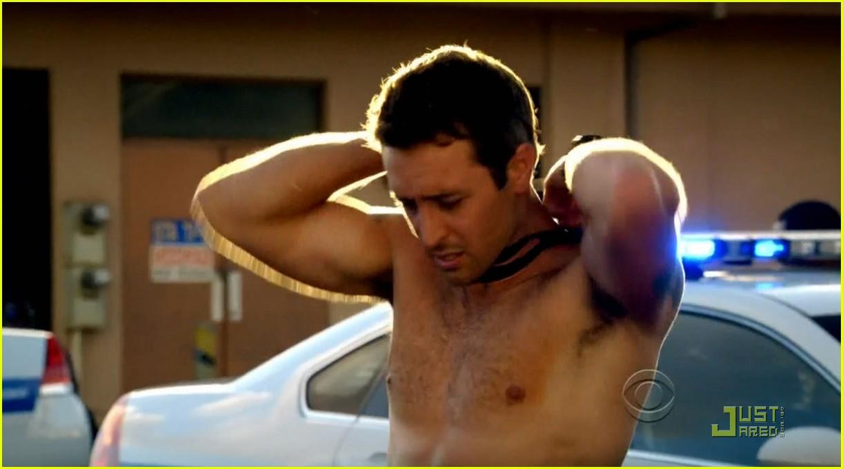 Alex harrouch shirtless