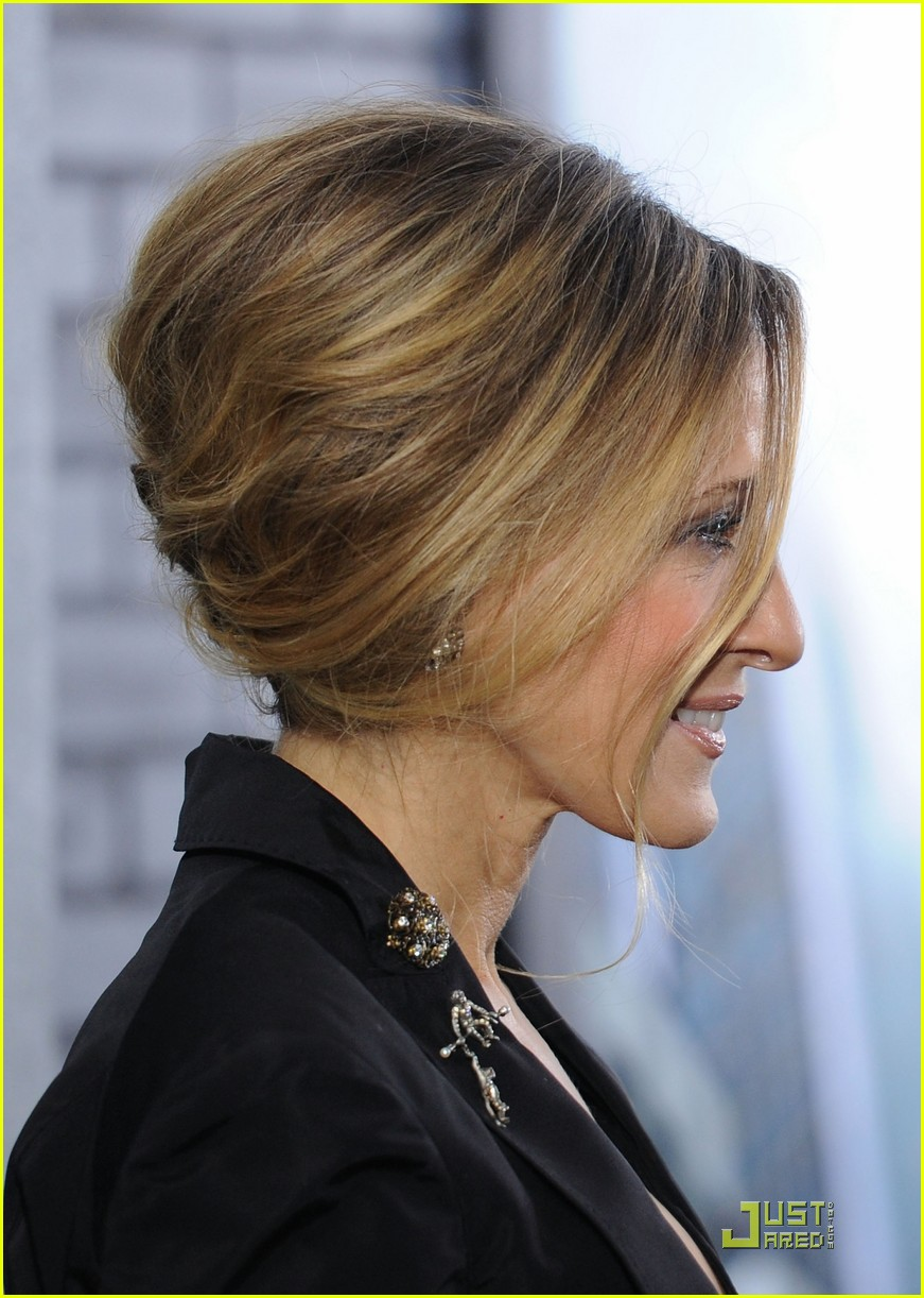 sarah jessica parker beauty in black 122496024