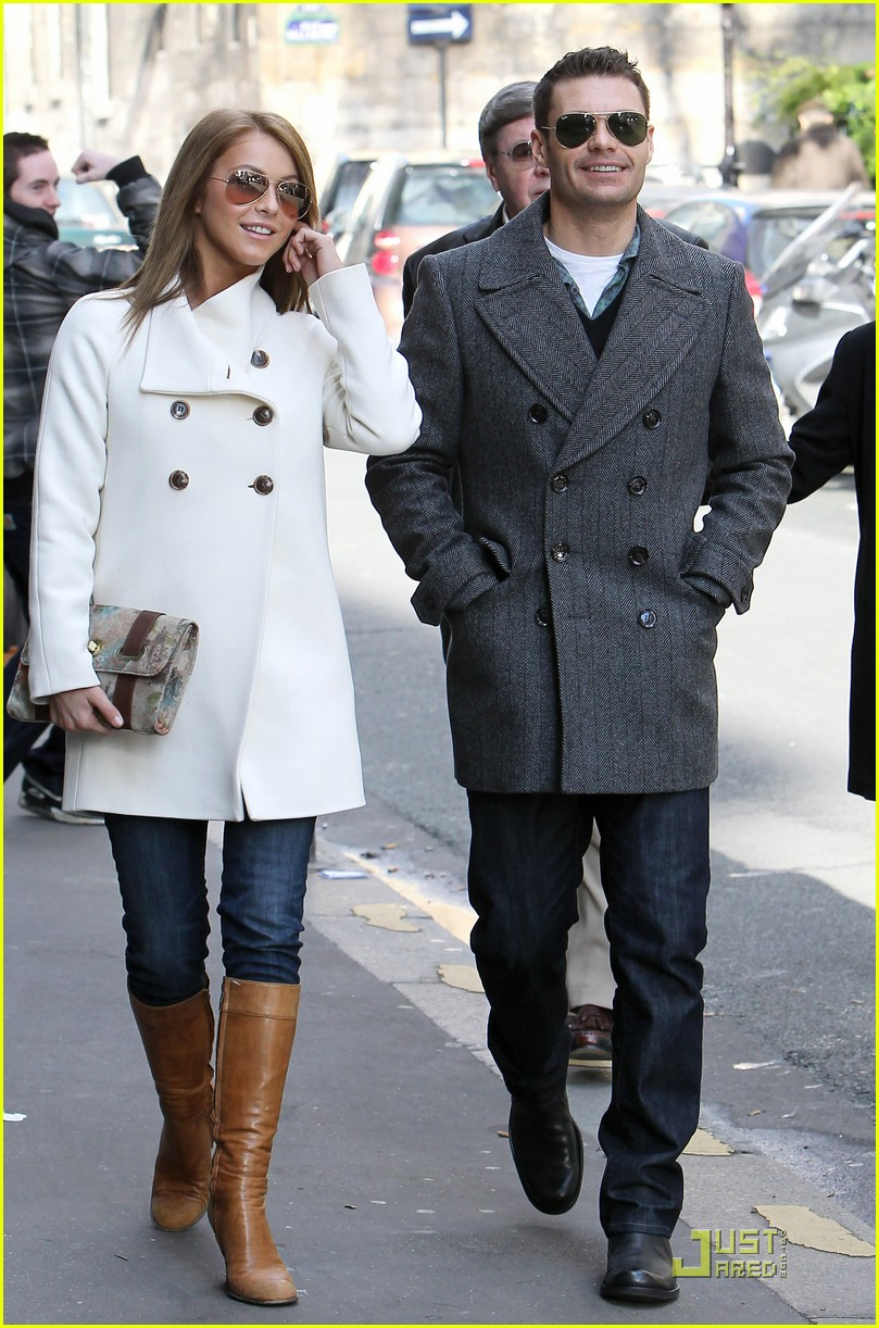 Full Sized Photo of ryan seacrest julianne hough pair 12 ...