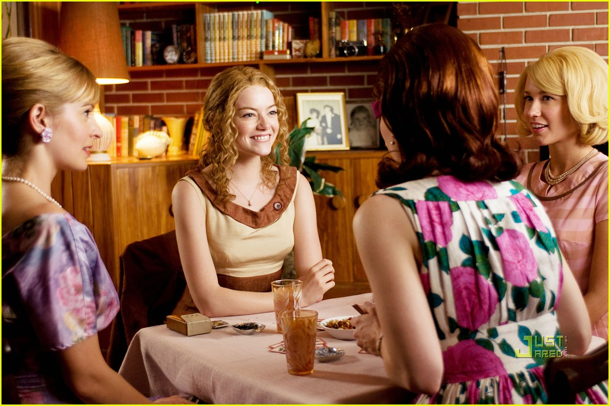 emma stone is rollin in the help 052492375