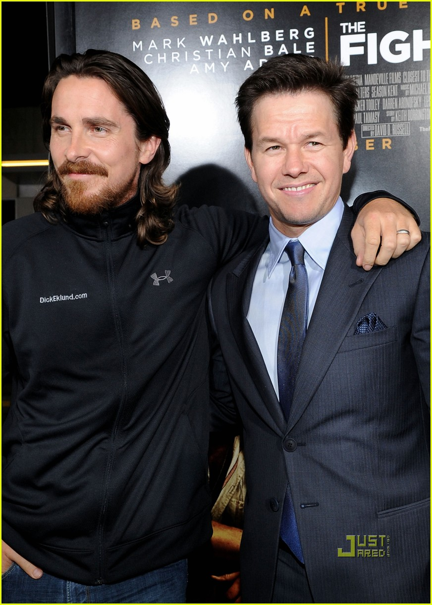 amy adams mark wahlberg christian bale fighter premiere 12