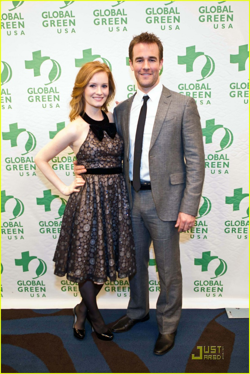 james van der beek global green 012503874