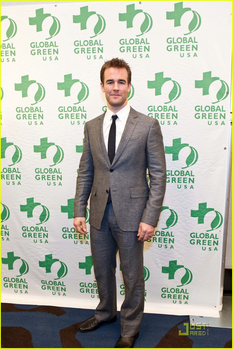 james van der beek global green 07