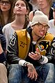 chris brown knicks game 01
