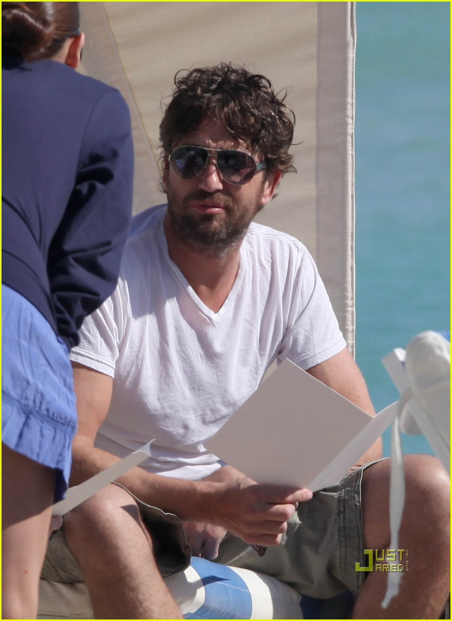 gerard butler south beach 02