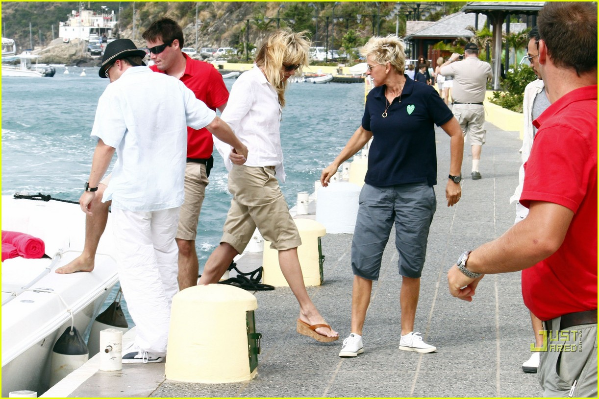 ellen degeneres portia de rossi happy together 042507238