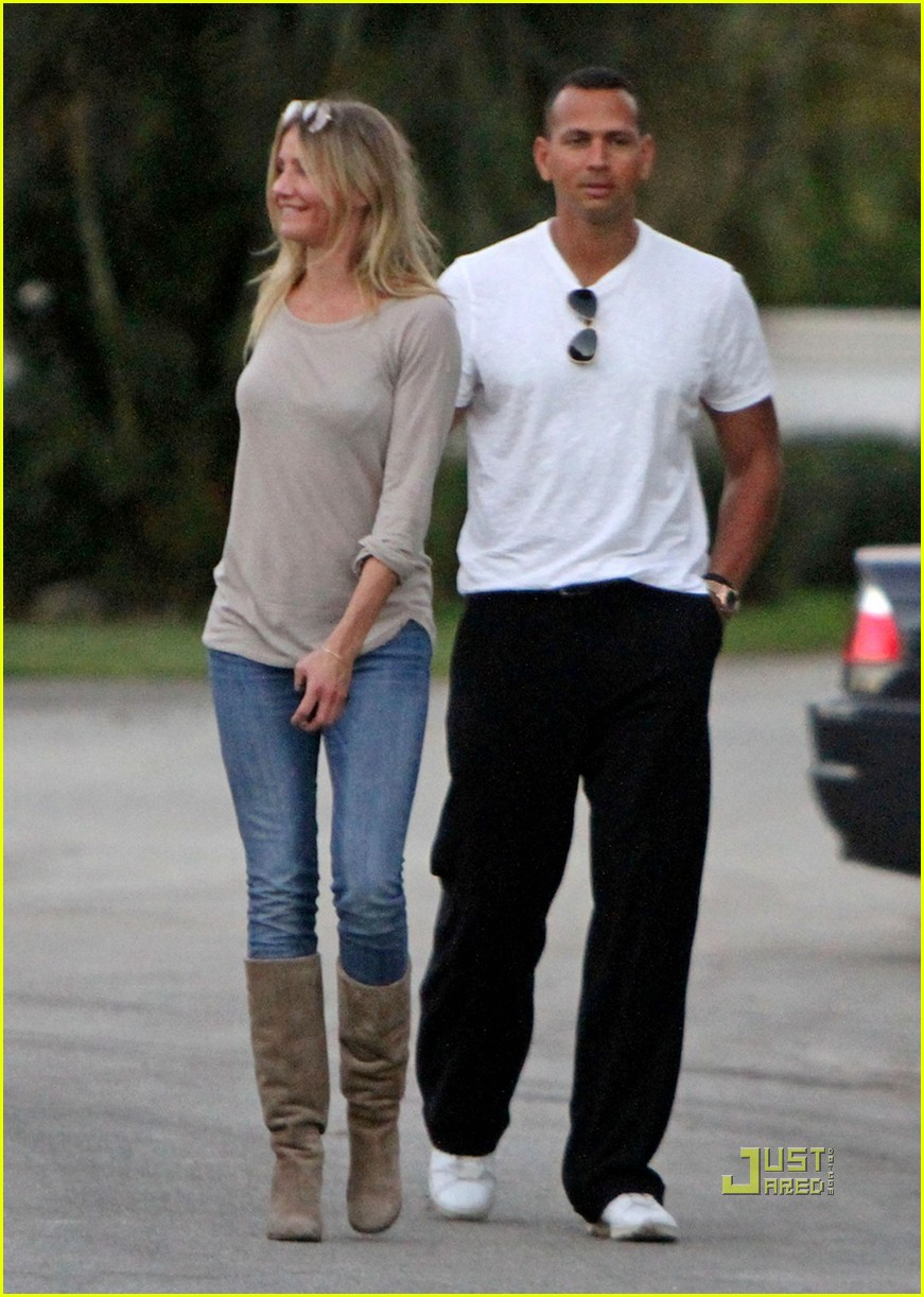 cameron diaz alex rodriguez touchy feely miami 052503307
