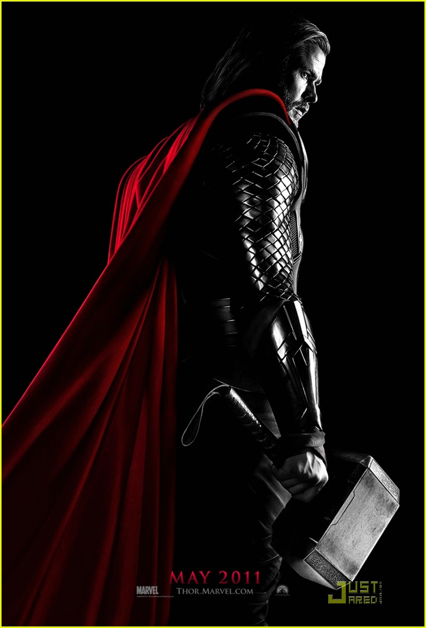 chris hemsworth thor poster