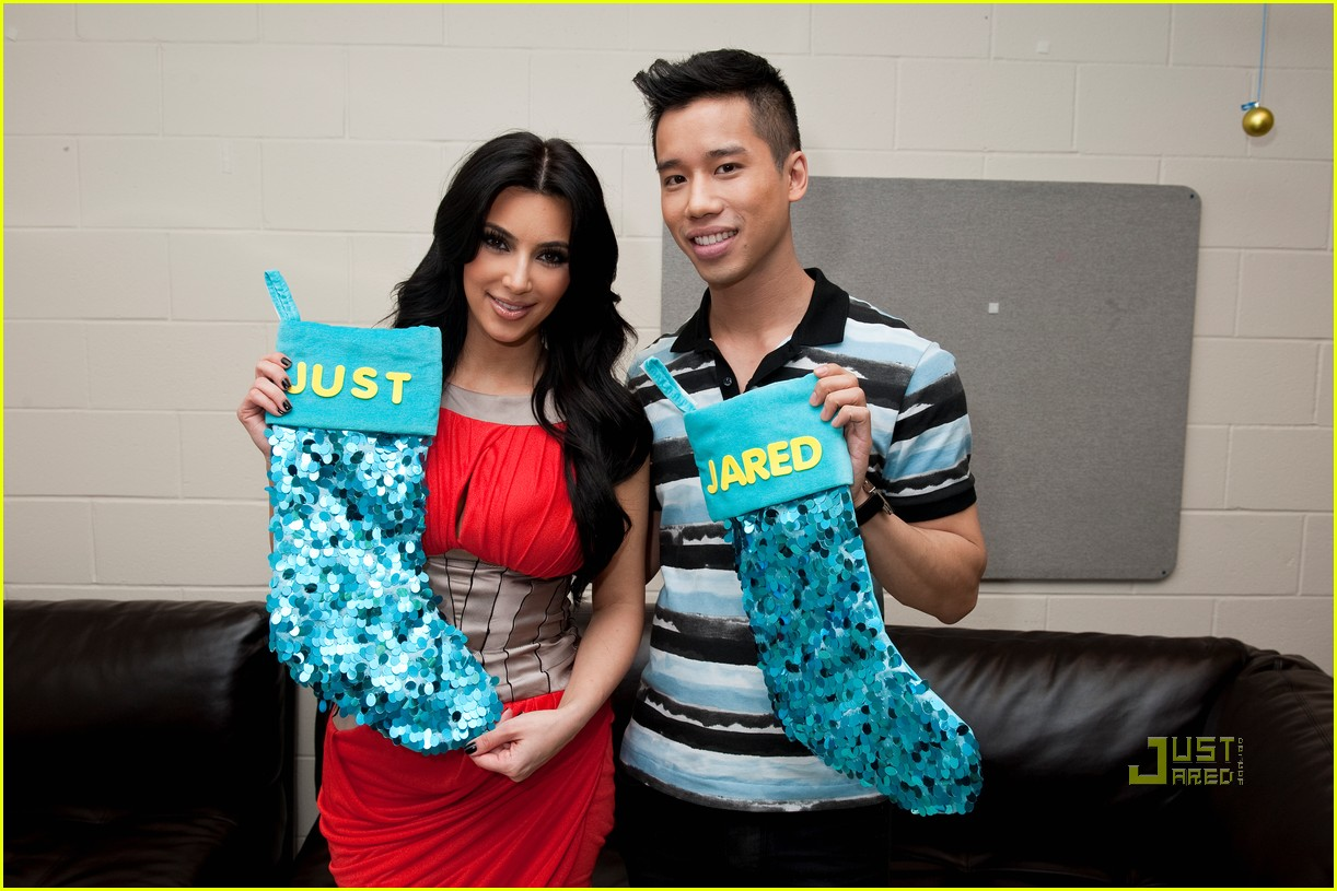 kim kardashian y100 jingle ball interview 01