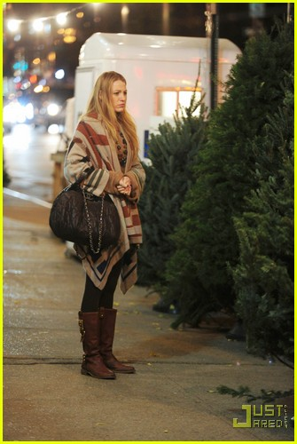 Blake Lively: Christmas Tree Shopping!: Photo 2503771 ...