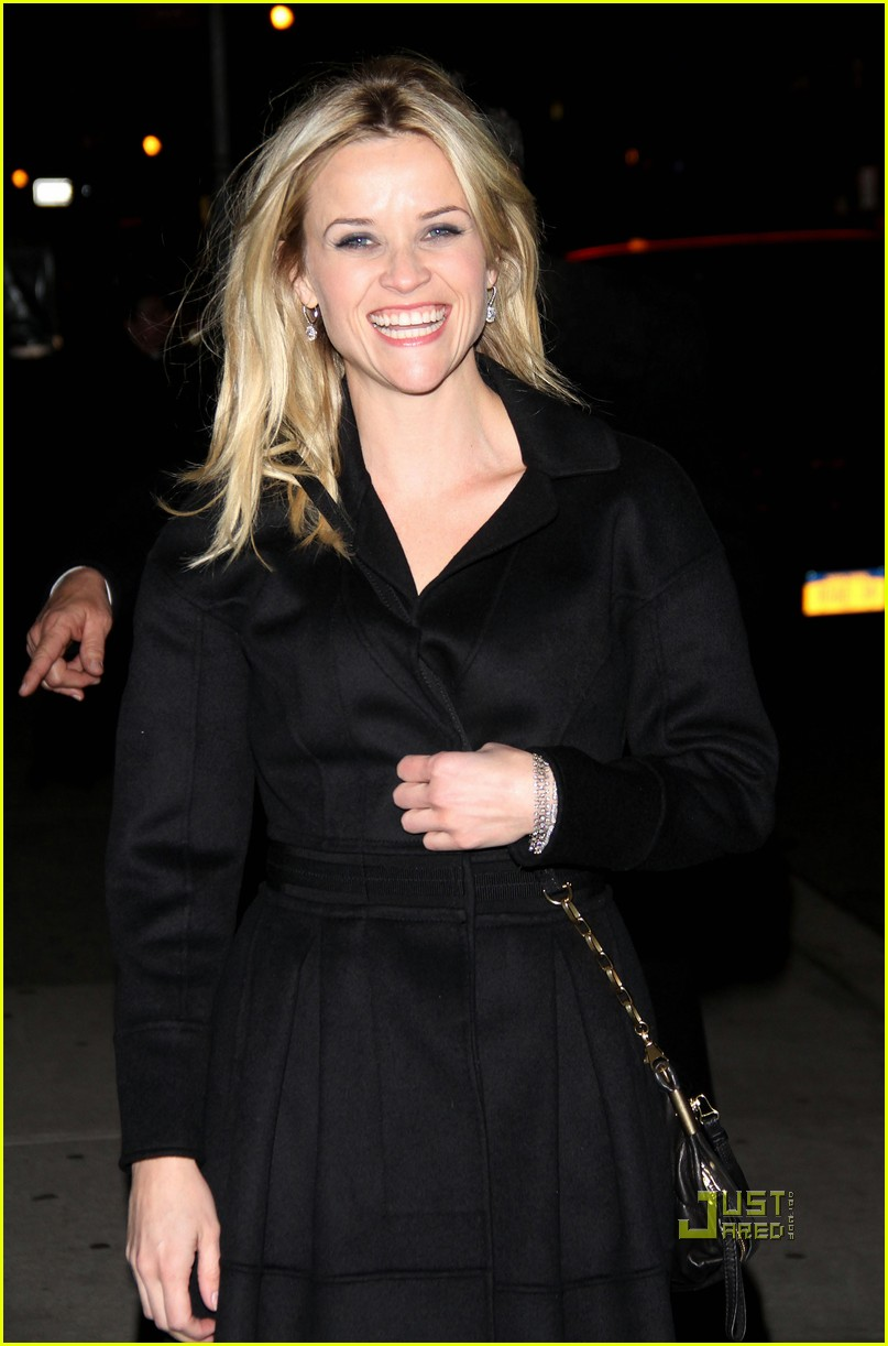 reese witherspoon late show david letterman 08