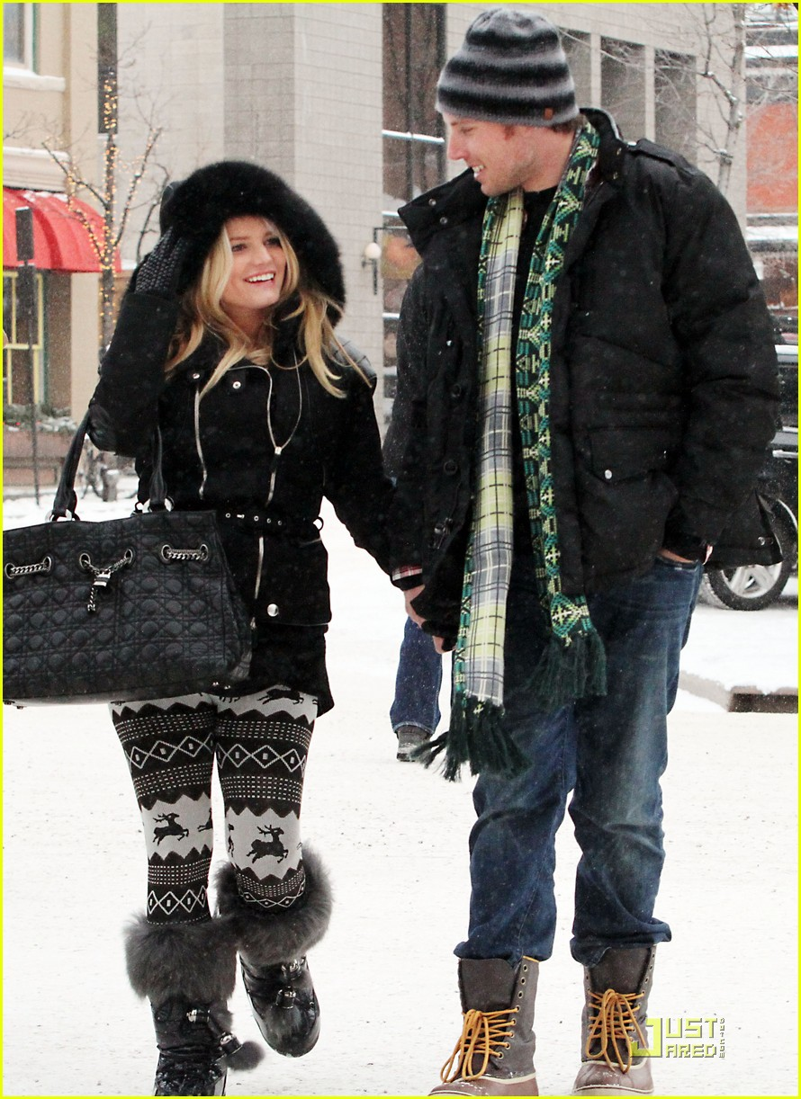 jessica simpson eric johnson snow 09