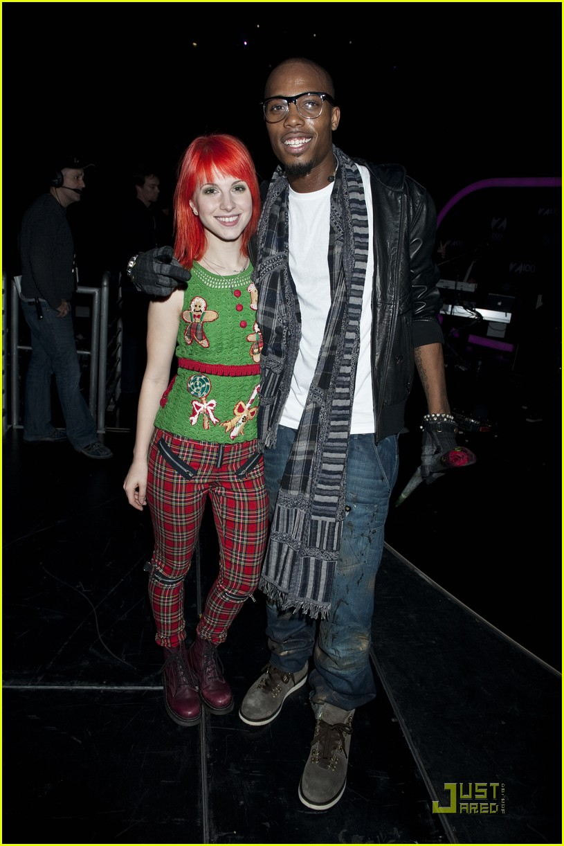 hayley williams z100 jingle ball 04