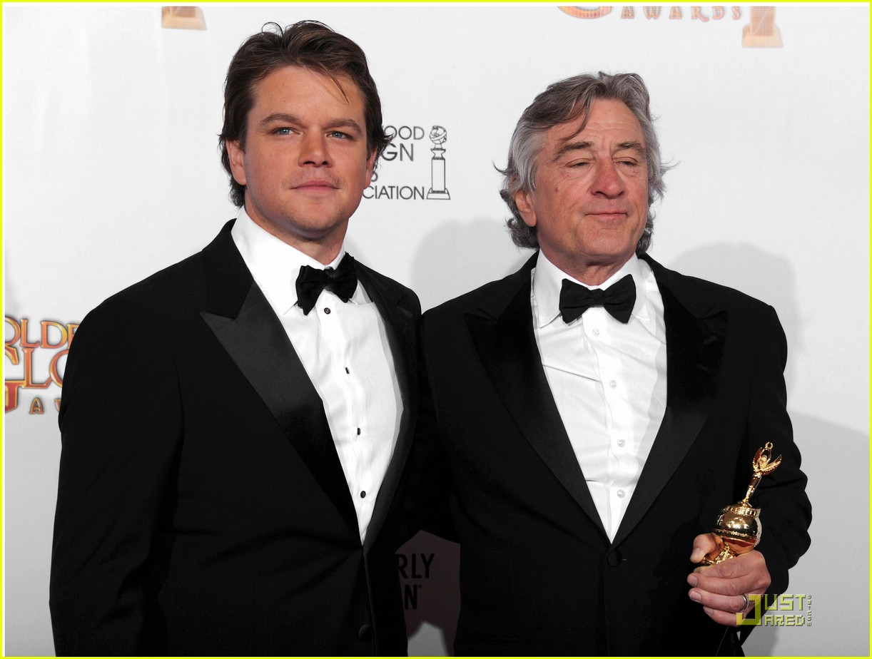 matt damon robert de niro golden globes 04