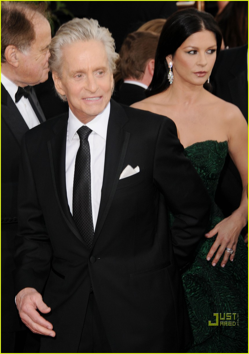 michael douglas catherine zeta jones golden globes 2011 05