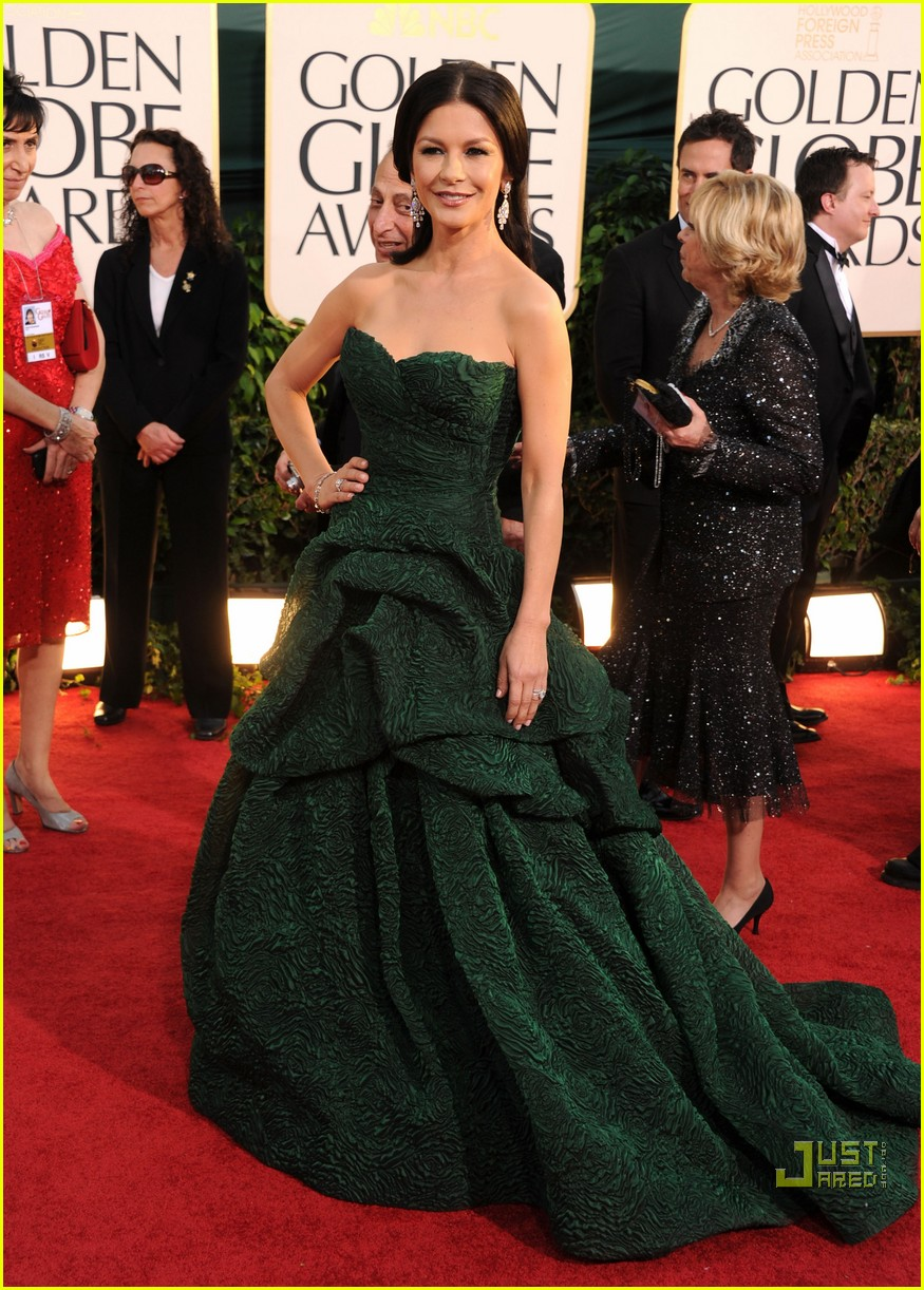 michael douglas catherine zeta jones golden globes 2011 06
