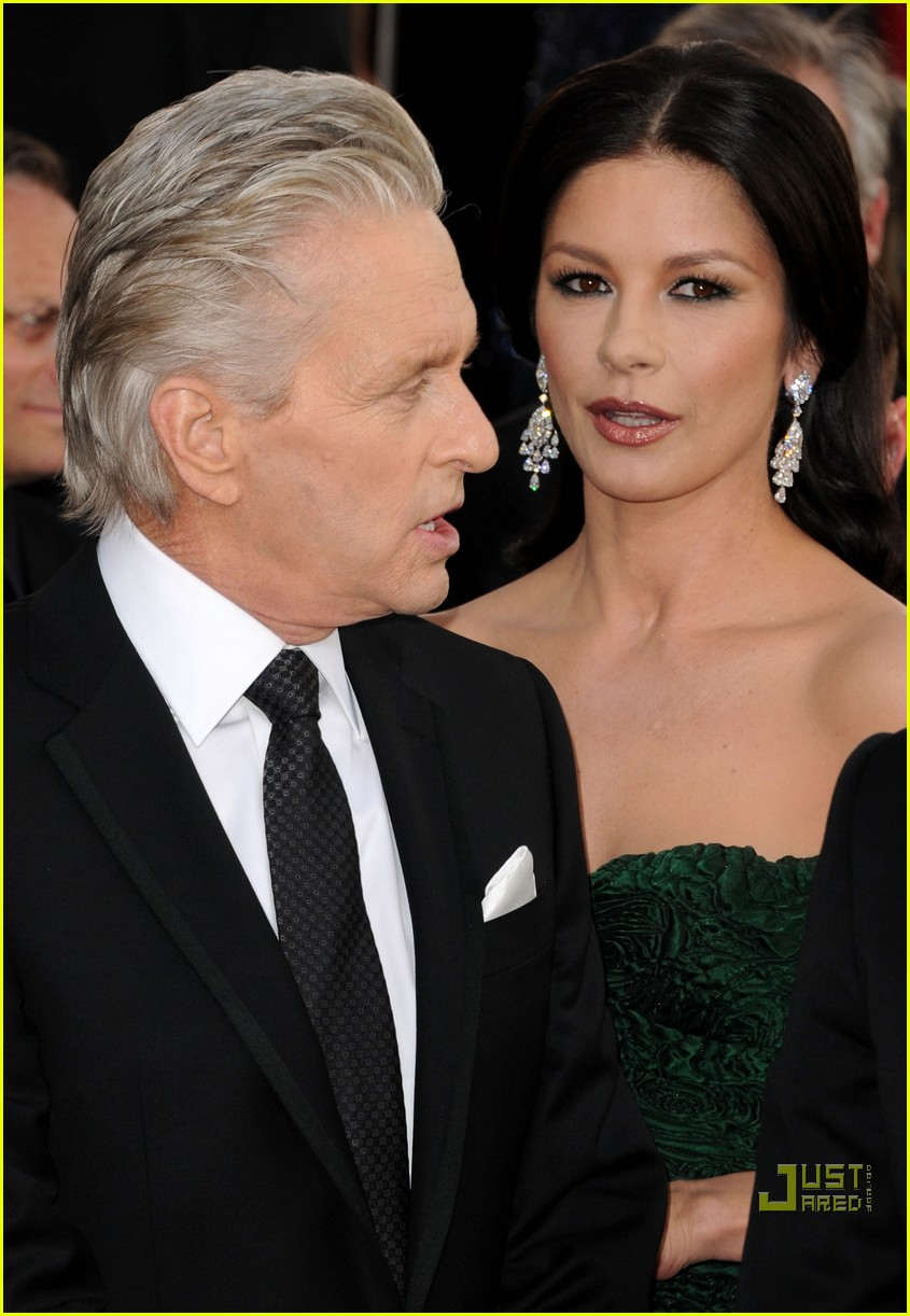 michael douglas catherine zeta jones golden globes 2011 11