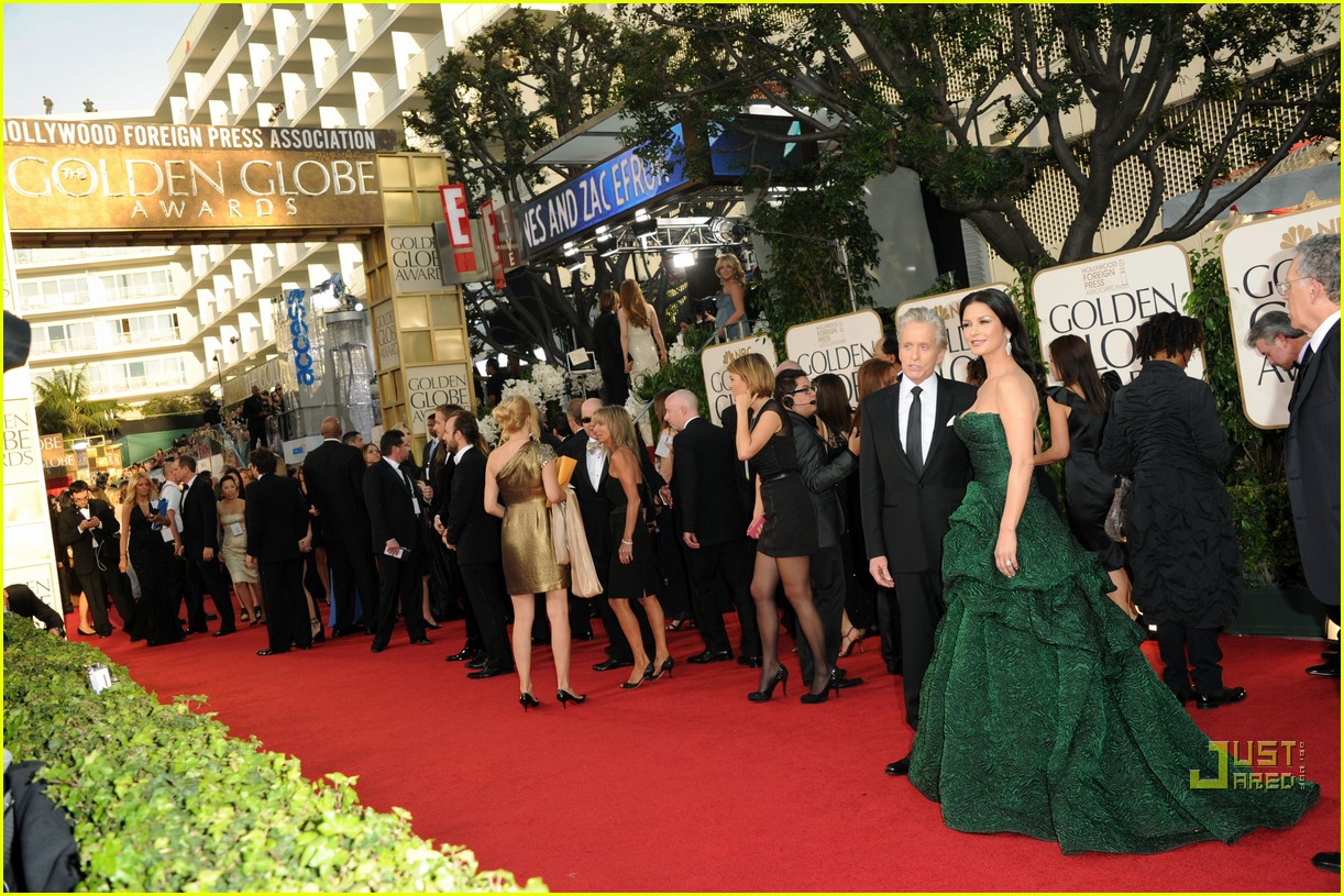 michael douglas catherine zeta jones golden globes 2011 16