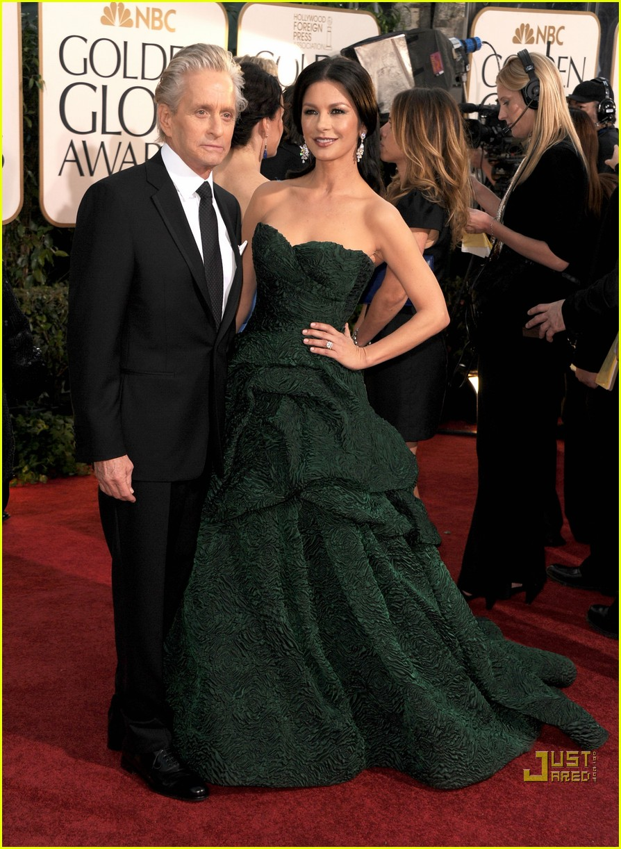 michael douglas catherine zeta jones golden globes 2011 222512278