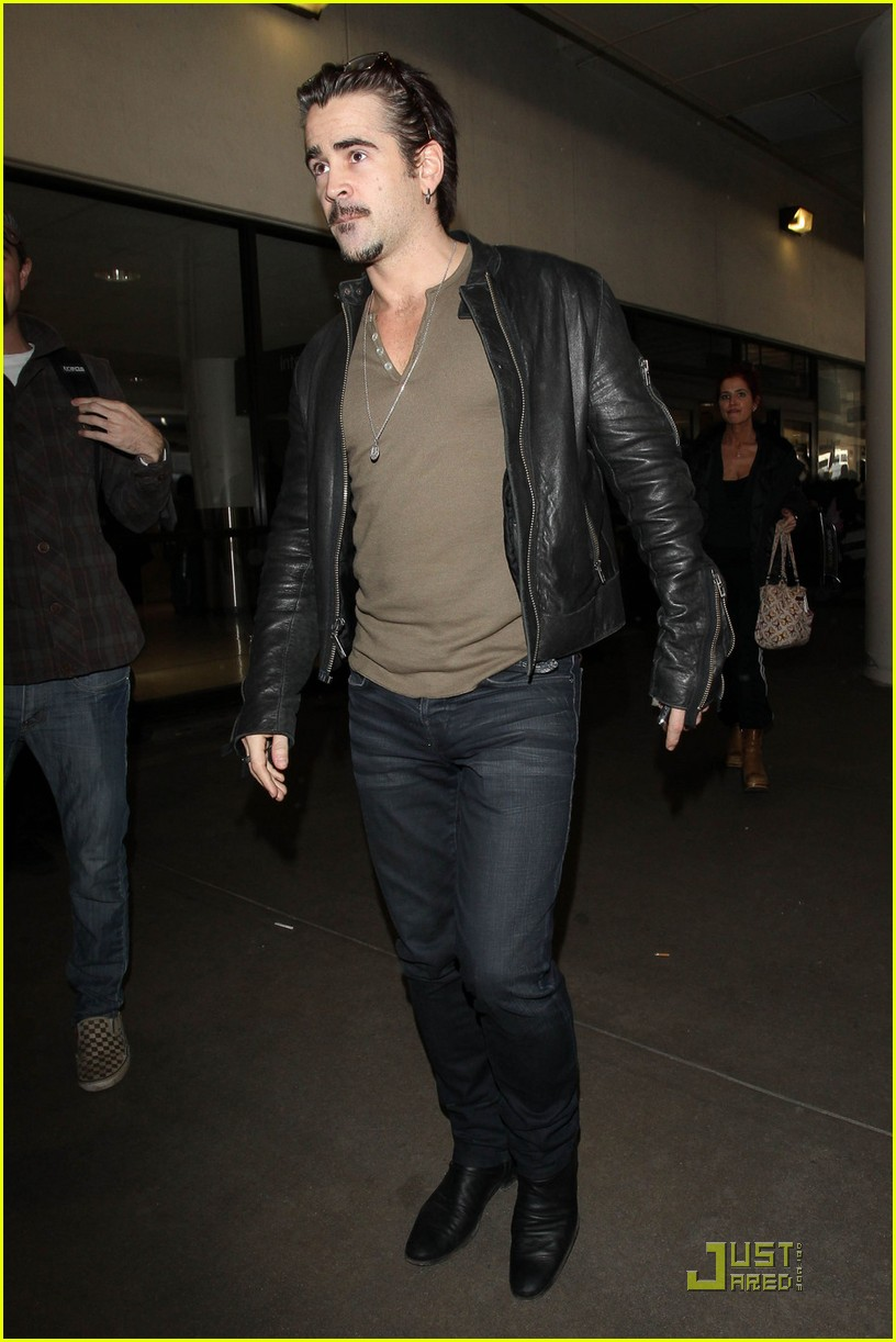 colin farrell arriving in los angeles 072509042