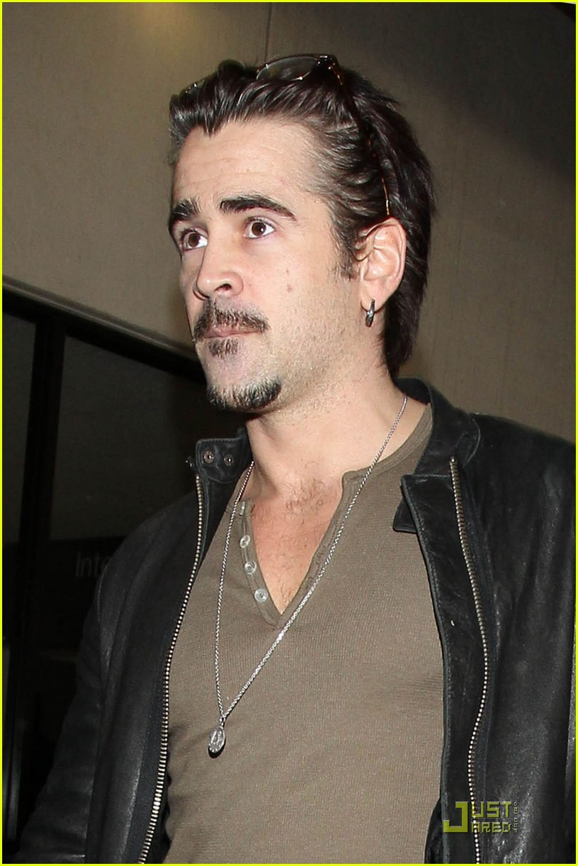 colin farrell arriving in los angeles 09