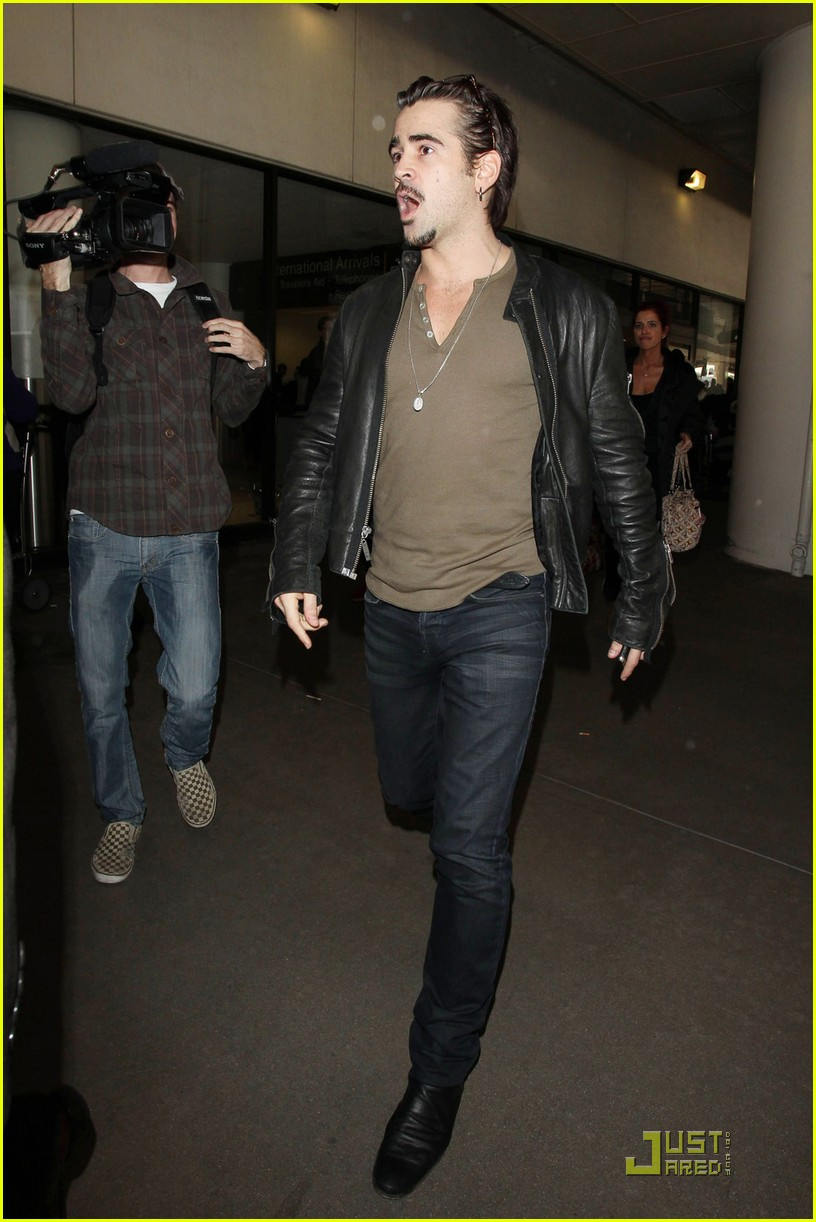 colin farrell arriving in los angeles 10