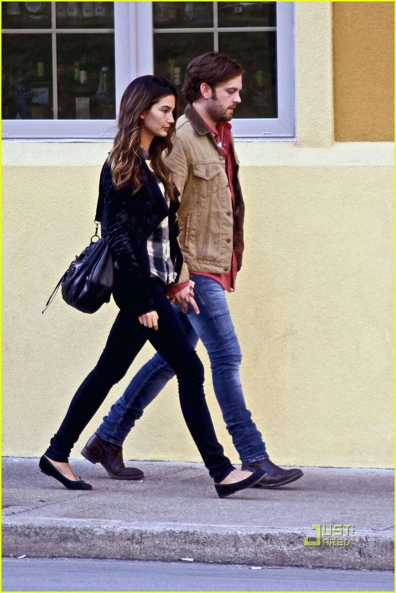 Caleb Followill  amp  Lily Aldridge  Late Lunch in Nashville Lily Aldridge And Caleb Followill 2014