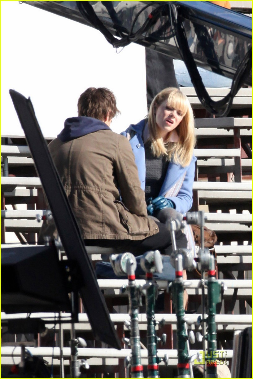 andrew garfield emma stone spidey gwen 13