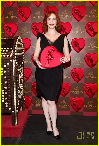 christina hendricks godiva pop up 02