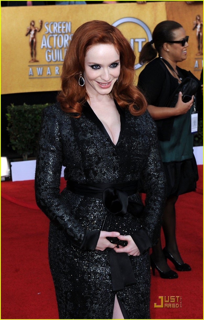 christina hendricks 2011 sag awards 04