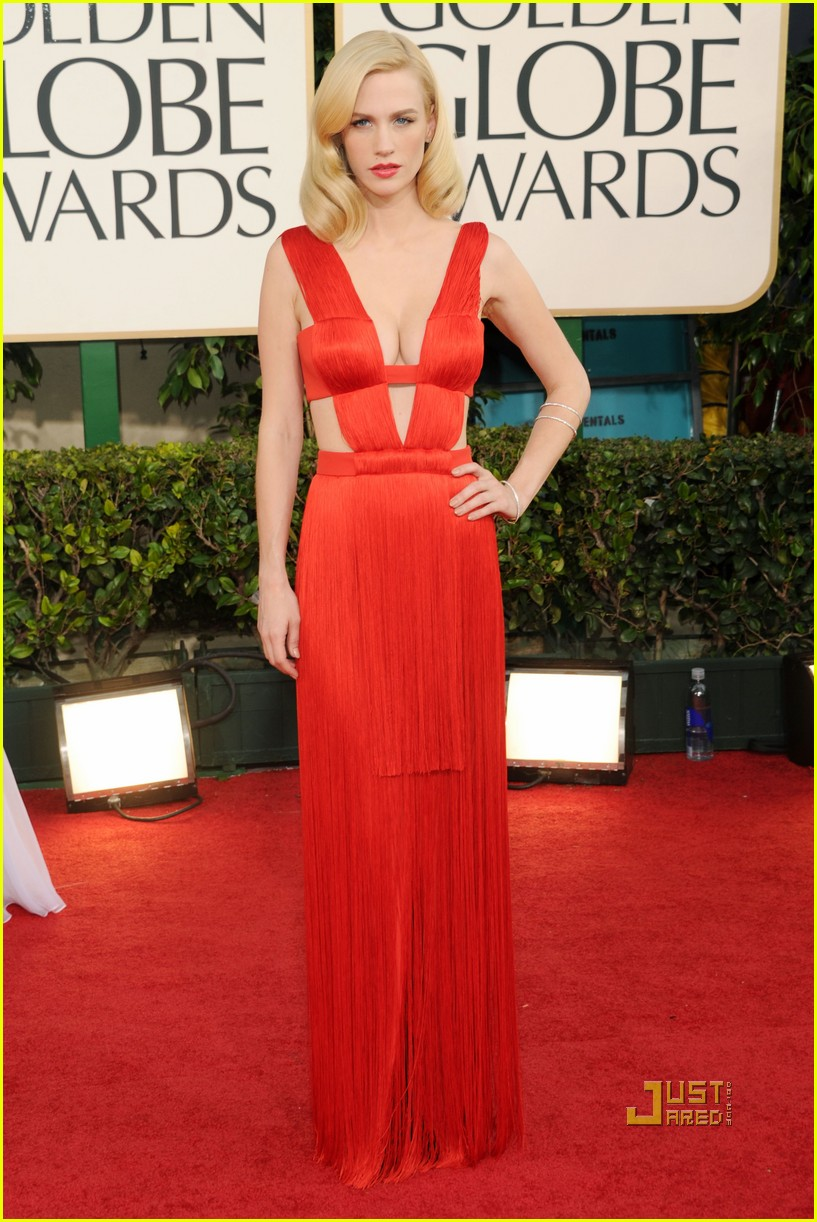 january jones 2011 golden globes 01