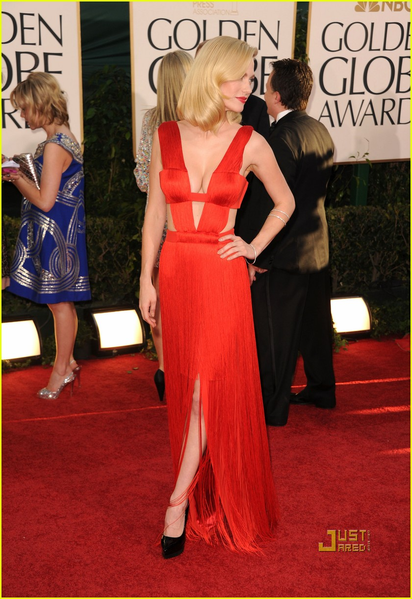january jones 2011 golden globes 11