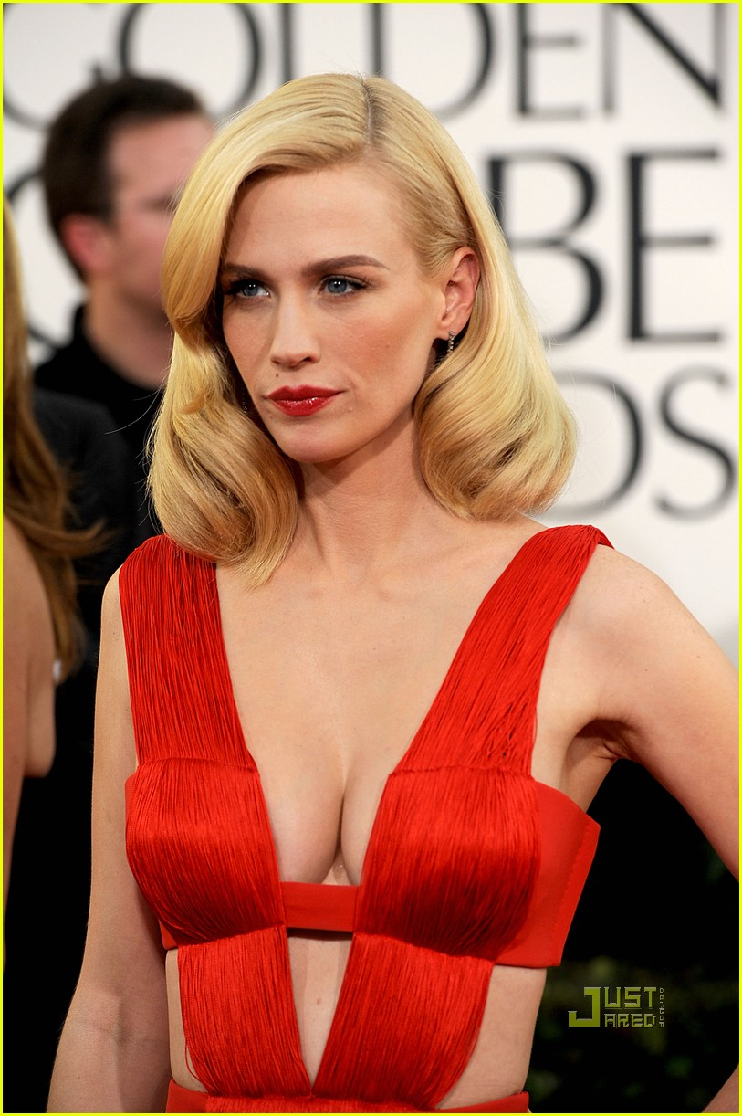 january jones 2011 golden globes 12