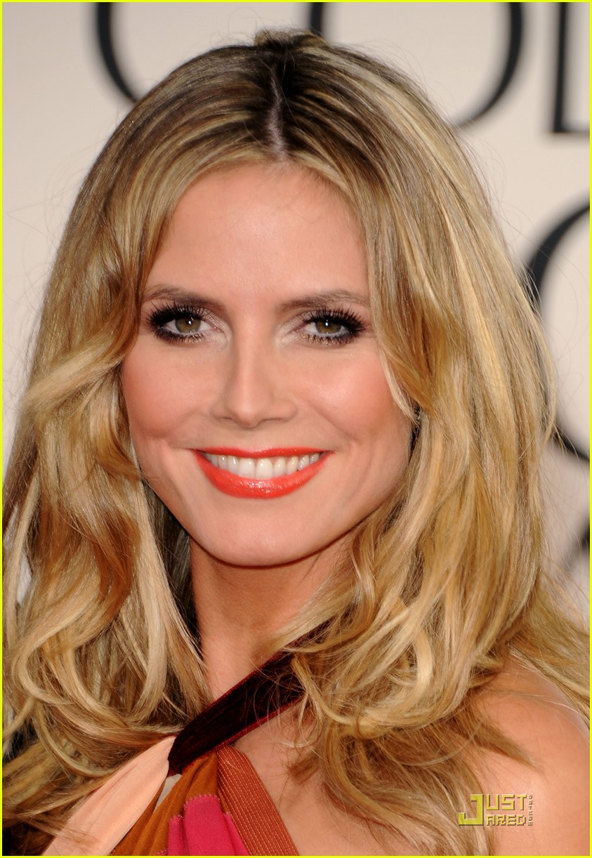 heidi klum seal golden globes 11