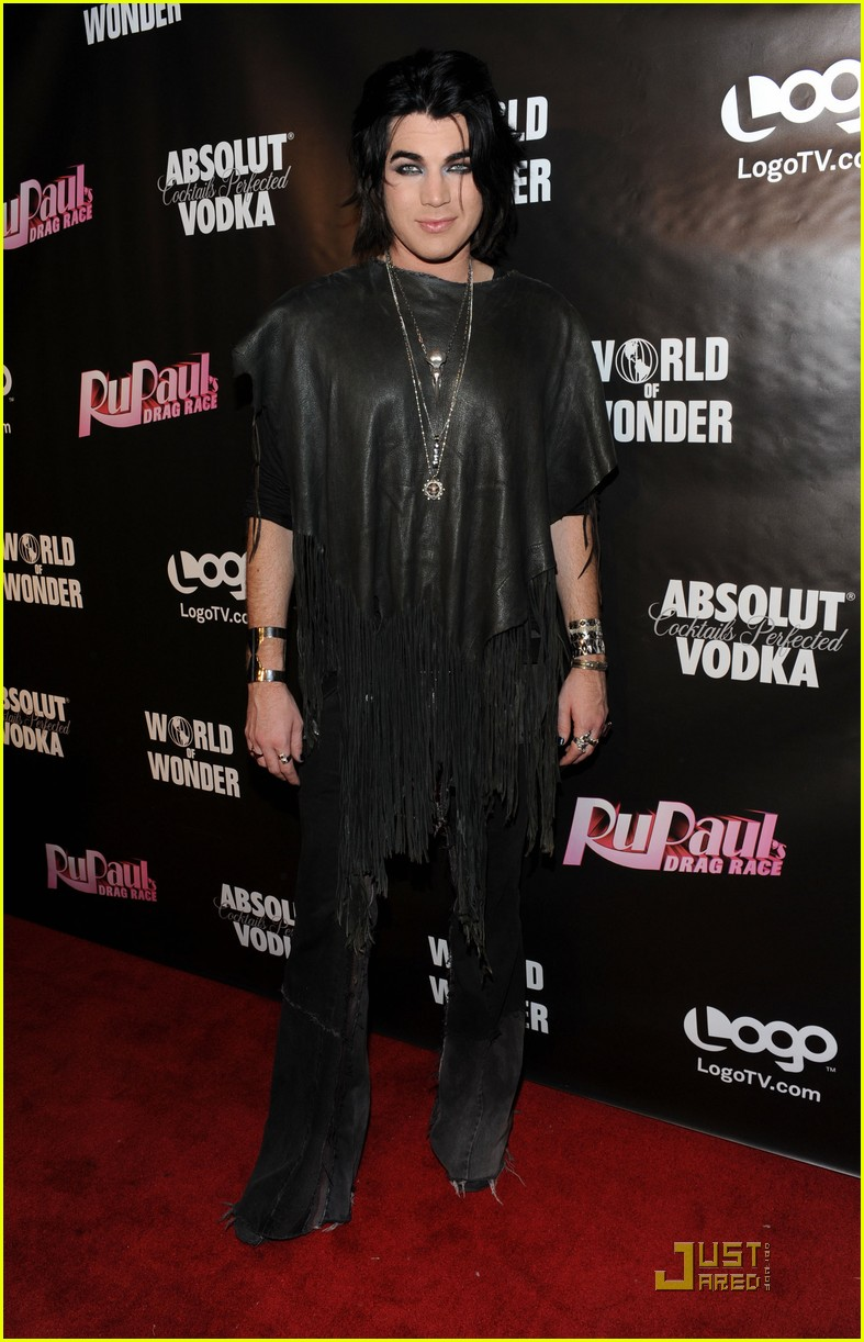 Adam Lambert in Drag Adam Lambert 39 Rupaul 39 s Drag