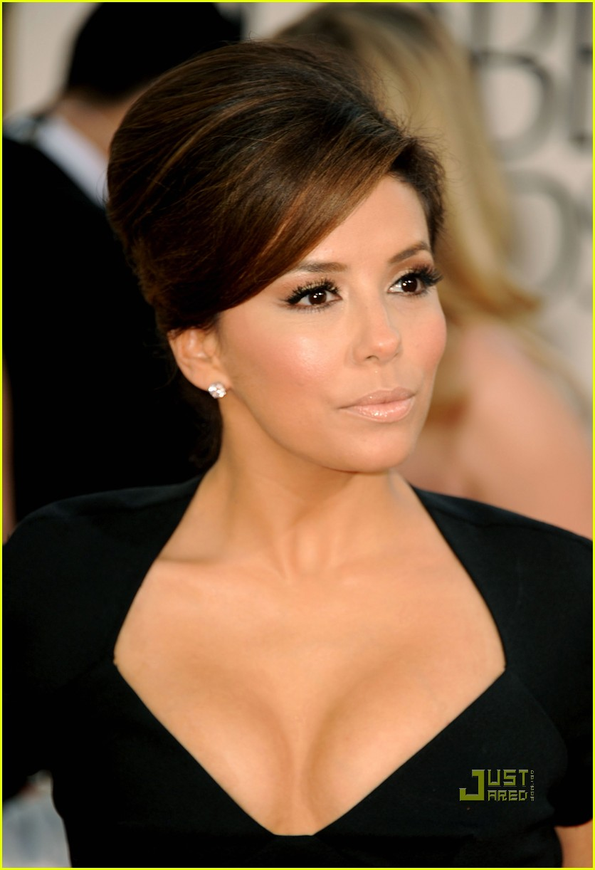 eva longoria 2011 golden globes red carpet 02