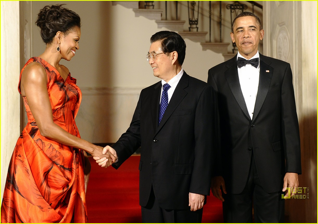 michelle obama china red 01